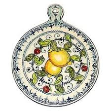 italian ceramic chilli pepper peperoncino jar holder hand painted