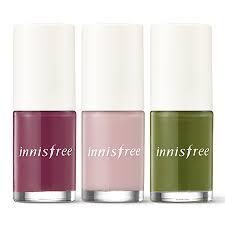 make up real color nail fall innisfree