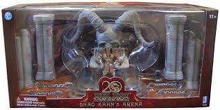 mortal kombat shao kahn throne u0026 arena with exclusive shao kahn