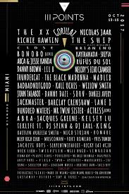 black friday miami 2017 iii points lineup to include gorillaz the xx bonobo and more