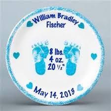 baby birth plates flair original personalised baby birth plates