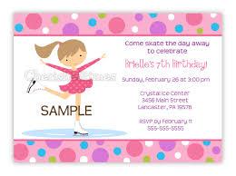 Party Invitation Card Design Skating Themed Party Invitation Card Design Ideas Momecard