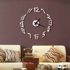 online get cheap wall clocks silver aliexpress com alibaba group