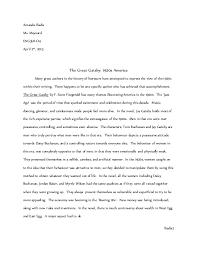 literature themes in the 1920s gatsby in 1920s america essay grade 11