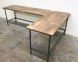 Steel Pipe Desk by Pipe Furniture Etsy