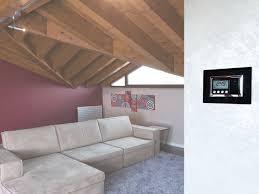 home automation system for hvac control for households eikon evo
