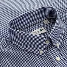 lacoste bureau 302 found lacoste lacoste clothing shop pocket check inkwell shirt