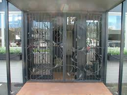 Wrought Iron Patio Doors by Ironcraft
