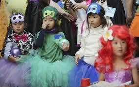 Traditional Halloween Monsters Even Minus Treats Japan U0027s Halloween Now A 330 Million Frenzy