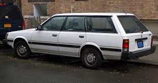 subaru wagon 2014 file 1986 subaru dl wagon left rear jpg wikimedia commons