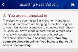Checked Bags United Flight Review United 737 900 Basic Economy Las To Lax