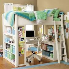 Childrens Bunk Bed With Desk Childrens Loft With Desk And Dresser Bunk Beds White