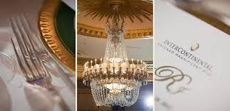 Giant Chandelier Jamison Jamie U0027s Chicago Intercontinental Hotel Wedding