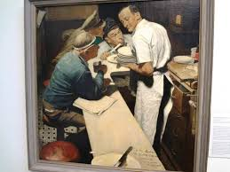 norman rockwell painting picture of norman rockwell museum