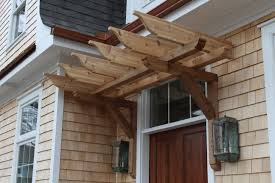 Front Door Arbor by Cedar Shake Cottage With Nantucket Style Shoreline Construction