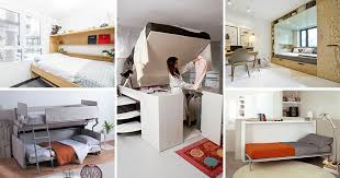 13 amazing examples of beds designed for small rooms contemporist