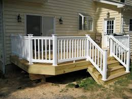 wood deck railing with glass panels u2014 jbeedesigns outdoor the