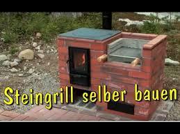 grill selber bauen aus stein steingrill kamin aus ziegelsteinen