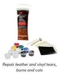 Car Upholstery Repair Tape Amazon Com 3m 08579 Leather U0026 Vinyl Repair Kit Automotive