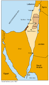 Map Of Israel And Middle East by Ch4 F99