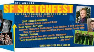 13th annual sf sketchfest the san francisco comedy festival