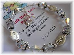 faith bracelets addictivejewelry baby baptism jewelry communion jewelry