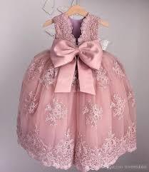 2017 vintage lace applique flower girls dresses for weddings soft