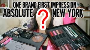 one brand first impression absolute new york youtube