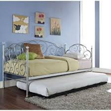 spring rose metal daybed standard furniture furniture cart