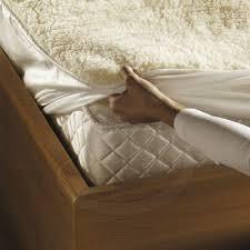 monogram by beurer komfort soft u0026 fleecy heated mattress topper