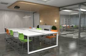 Contemporary Boardroom Tables Contemporary Boat Shaped White Conference Table Solid Wood Top