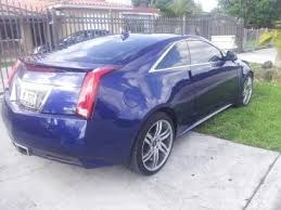 2012 cadillac cts colors buy used 2012 cadillac cts coupe like blue color exterior
