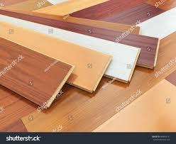 Laminate Wood Plank Flooring Parquet O Laminate Wooden Planks Different Stock Illustration