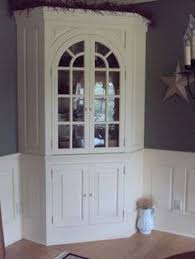 Corner Hutch Dining Room Furniture Built In Corner Cabinet In Dining Room Dream Houzzz Pinterest