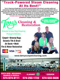 Oriental Rug Cleaning South Bend Terry U0027s Cleaning U0026 Restoration Goshen In 46528 Yellowbook
