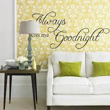 aliexpress com buy always kiss me goodnight diy removable art