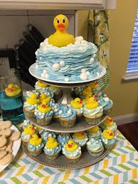 rubber ducky first birthday bubbles are white fondant success