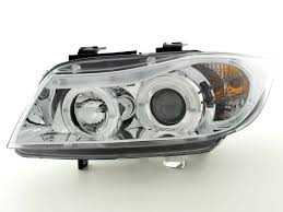 bmw e90 headlights headlight angel eyes led bmw 3 e90 91 05 11 dbrtuning