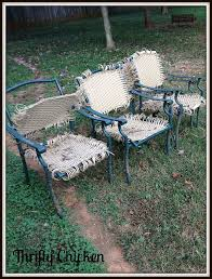 updating the ole patio chairs hometalk