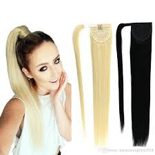ponytail extension 8a ponytail human hair 120g 613 60 22brazilian human