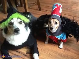 Flying Monkey Costume Wicked Witch And Flying Monkey Dogs Costumes
