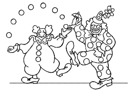 Coloring Pages For Kids To Print Circus Coloring Pages Circus Circus Coloring Page