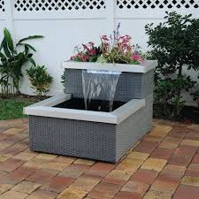 Contemporary Indoor Water Fountains by Complete Aquaponics System Ambiance Living Fountain Indoor Or