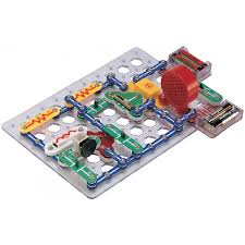 snap circuits lights electronics discovery kit elenco snap circuits 300 in 1 experiments kit robotshop