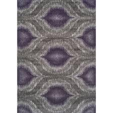 Purple And Grey Area Rugs Addison Platinum Nebulous Eggplant Gray Area Rug 9 U00276 X 13 U00272
