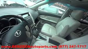 lexus rx exhaust parting out 2008 lexus rx 350 stock 7148br tls auto recycling