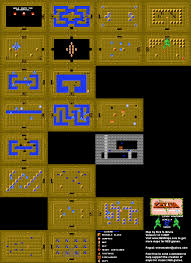 The Legend Of Zelda A Link Between Worlds Map by Legendofzelda Firstquest Level 4 Snake Png 1024 1408