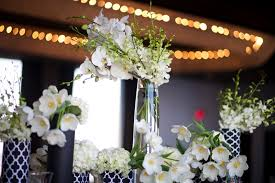 black and white wedding decorations modern glamorous emerald green wedding inspiration