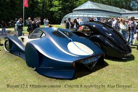vintage bugatti race car bugatti 12 4 atlantique concept car