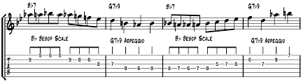 using the phrygian dominant bebop scale fundamental changes